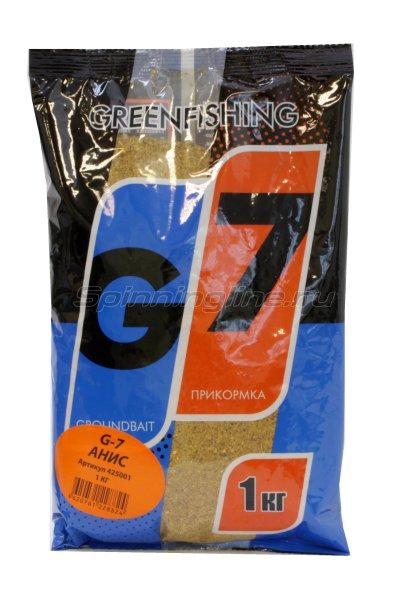 Прикормка G-7 Анис 1кг -  1