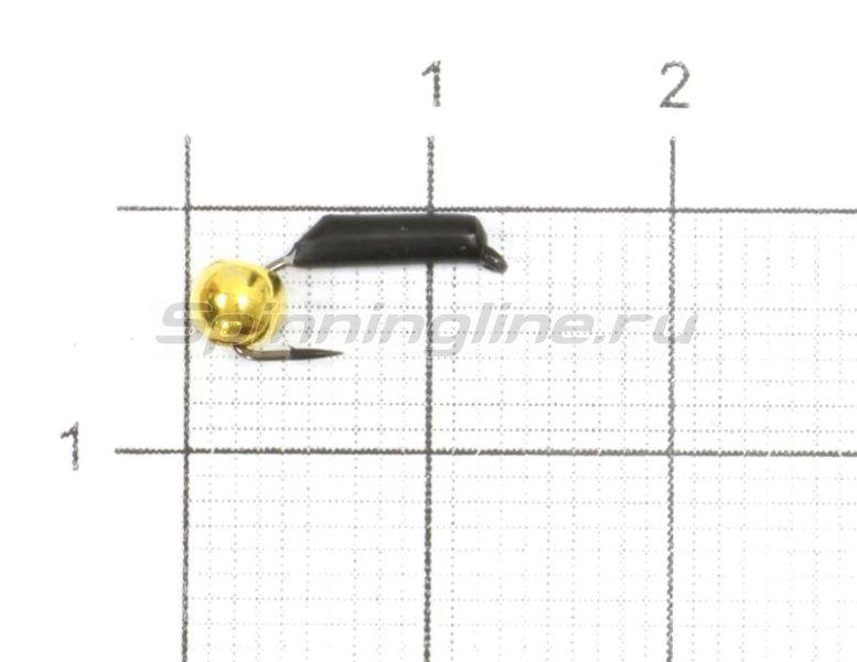 Мормышка Гвоздешарик d1.5 0,5гр латунь -  1