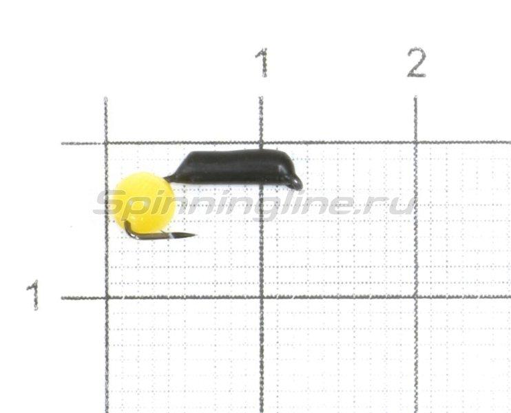 Мормышка Гвоздешарик Кошачий глаз d1.5 0,38гр желтый -  1