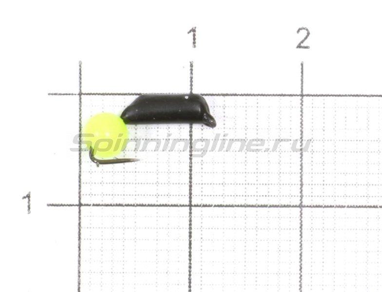 Мормышка Гвоздешарик Кошачий глаз d2 0,56гр акриловый(кислотный) -  1