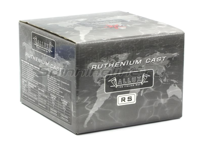 Катушка Allux Ruthenium Cast RS -  6