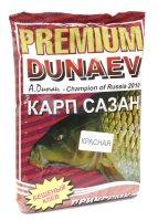 Прикормка Dunaev Premium 1кг Карп-Сазан Мед красная