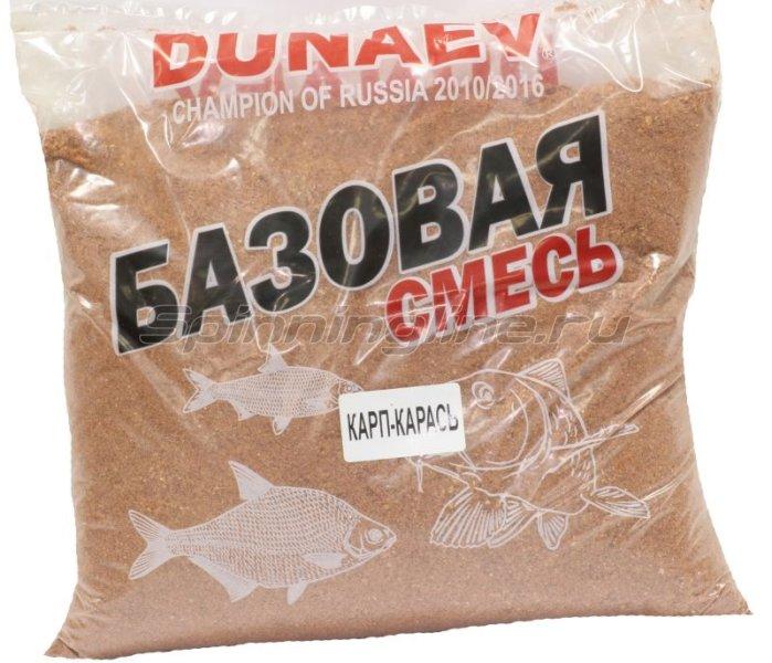 Прикормка Dunaev Базовая смесь Карп-Карась -  1