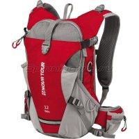 Рюкзак Вело 12 красный/серый