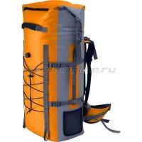 Рюкзак Амфибия 60 серый/оранжевый