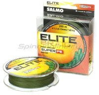 Шнур Elite Braid Super PE Green 125м 0.28мм