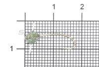 Полимер Nord Water's шар 5 отверстий 383 УФ серебро