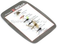 Набор мушек Shakespeare Sigma Fly Selection 1 Dry Flies
