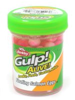 Приманка Gulp Alive Floating Salmon Eggs Arctic Pink