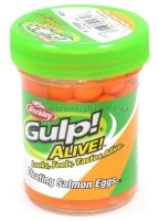 Приманка Gulp Alive Floating Salmon Eggs Flor Orange