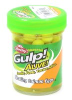 Приманка Gulp Alive Floating Salmon Eggs Flor Yellow