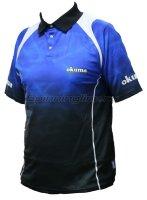Футболка Okuma Blue Polo  XL