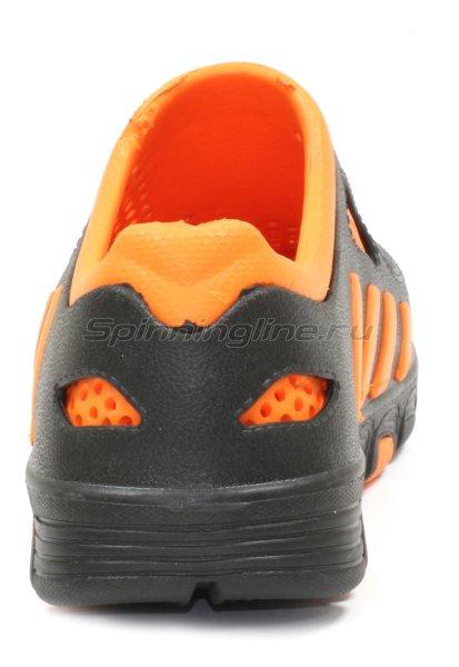 Кроссовки WoodLine ЭВА 110 40-41 черно-оранжевые - фотография 4