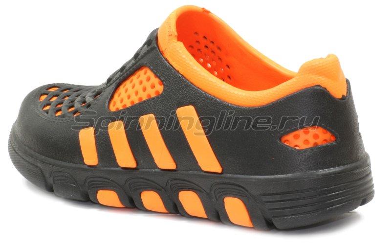 Кроссовки WoodLine ЭВА 110 38-39 черно-оранжевые -  3