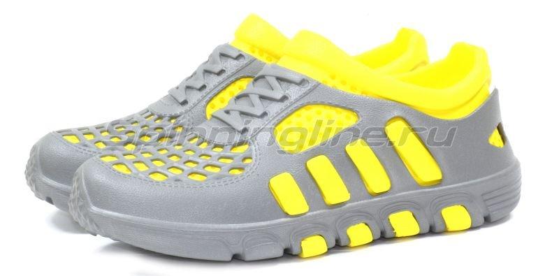 Кроссовки WoodLine ЭВА 110 38-39 серо-желтые -  1