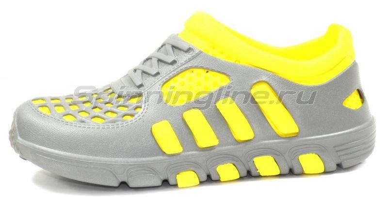 Кроссовки WoodLine ЭВА 110 38-39 серо-желтые -  2