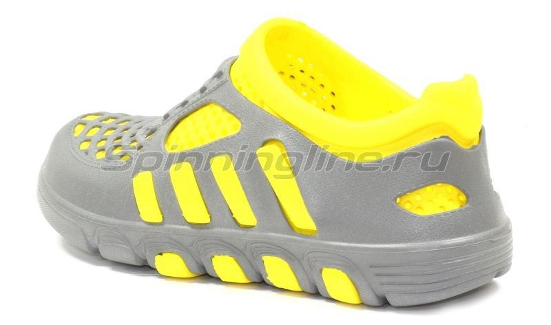 Кроссовки WoodLine ЭВА 110 36-37 серо-желтые -  3