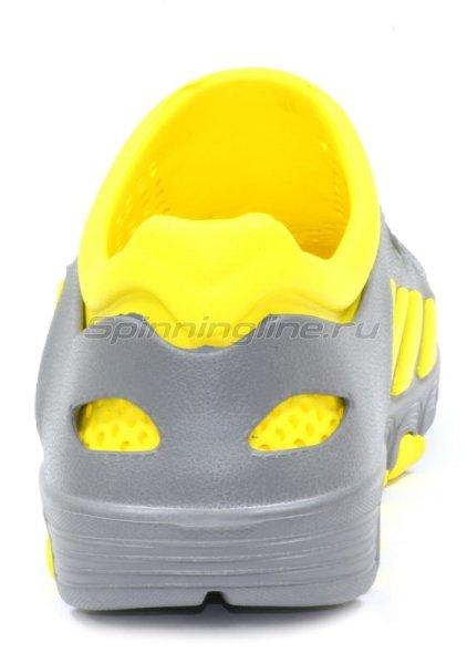 Кроссовки WoodLine ЭВА 110 36-37 серо-желтые -  4