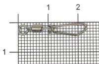 Вертлюг с карабином EP-304-06