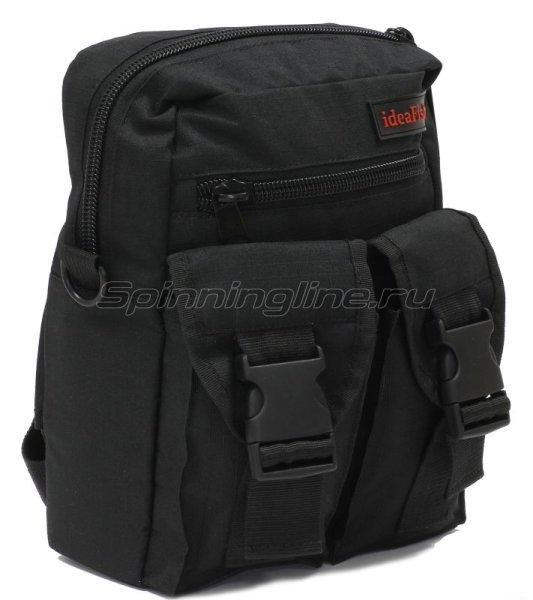 Поясная сумка с держателем удилища Stakan Портатиф правша черный -  1