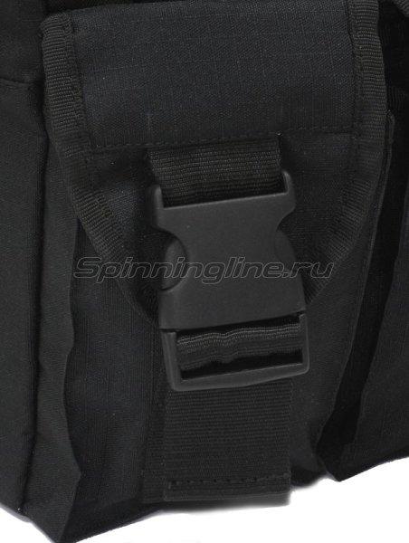Поясная сумка с держателем удилища Stakan Портатиф правша черный -  3
