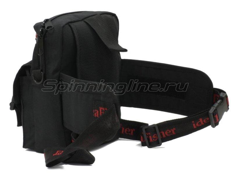 Поясная сумка с держателем удилища Stakan Портатиф правша черный -  6