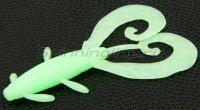 """Приманка Reins G-Tail Twin 2"""" 109 Glow Melon Sherbet"""
