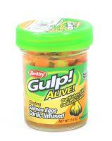 Мягкие приманки Berkley Gulp Alive Garlic Salmon Eggs