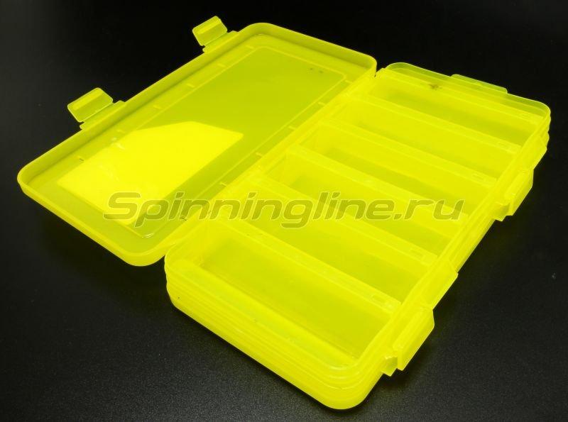 Коробка Три Кита для воблеров и балансиров ВБ-2 желтая -  2