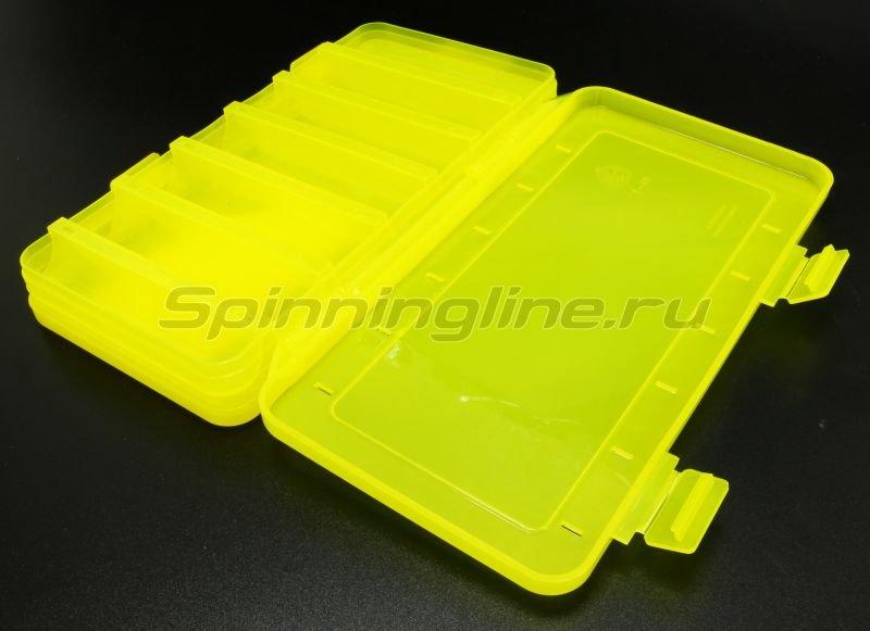 Коробка Три Кита для воблеров и балансиров ВБ-2 желтая -  3