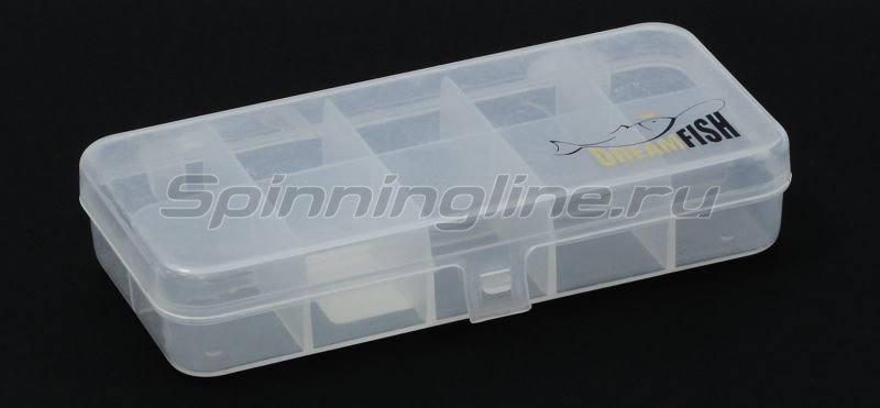 Коробка Три Кита КМ-1 10 отделений, арт. 37277 – купить по цене 38 рублей в Москве и по всей России в рыболовном интернет-магазине Spinningline
