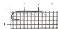 Крючок Plain Shank Ring BN №8