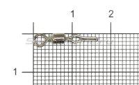 Вертлюг с карабином Rolling Swivel/Line Clip №6