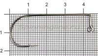 Крючок Itaru Jig-28 BC №5/0