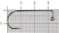 Крючок Itaru Jig-28 BC №2/0