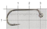 Крючок Kuti Jig-27 BC №2/0