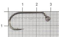 Крючок Kuti Jig-27 BC №1/0
