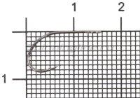 Крючок Cuno S-31 BC №8