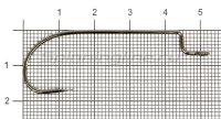 Крючок Midzu B-11 BC №4/0