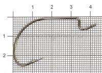 Крючок Ogami B-91 BC №3/0