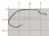Крючок Siro B-73 BC №1/0