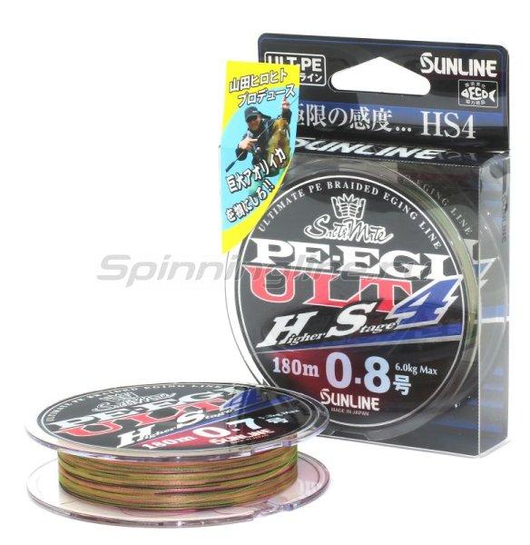 Шнур Sunline PE EGI ULT HS4 180м 0.7 – купить по цене 3225 рублей в Москве с доставкой по России в рыболовном интернет-магазине Spinningline