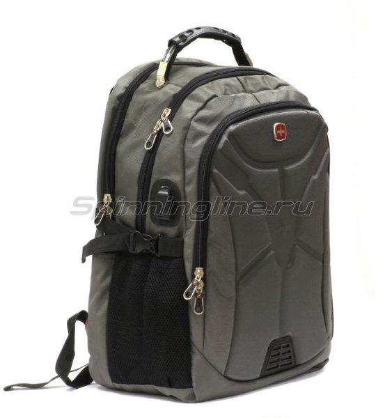 Рюкзак Swgelan D1569 серый -  1