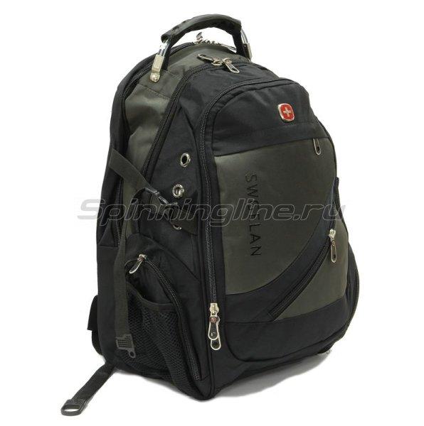 Рюкзак Swgelan LP8810 черно-серый -  1