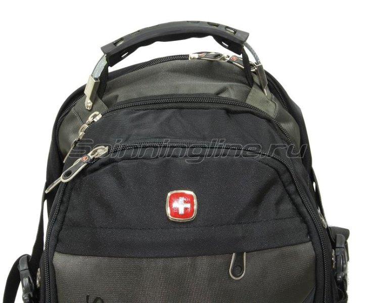 Рюкзак Swgelan LP8810 черно-серый -  4