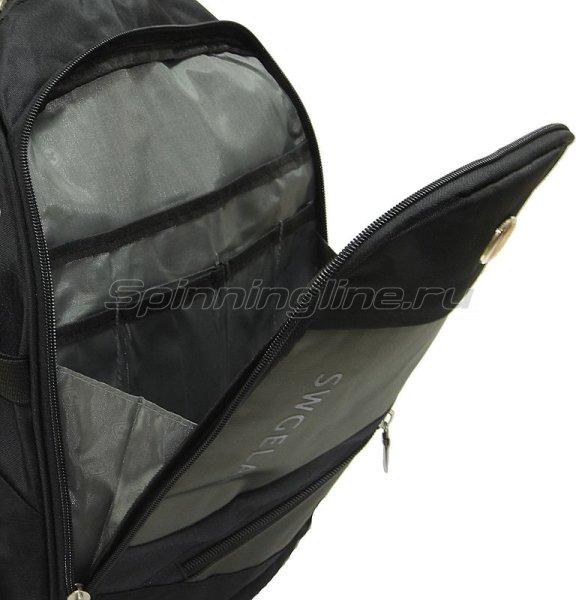 Рюкзак Swgelan LP8810 черно-серый -  5