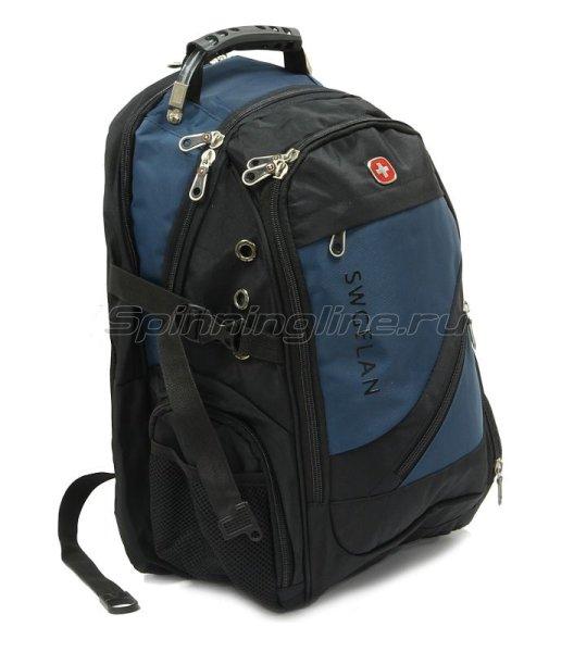 Рюкзак Swgelan LP8810 черно-синий -  1