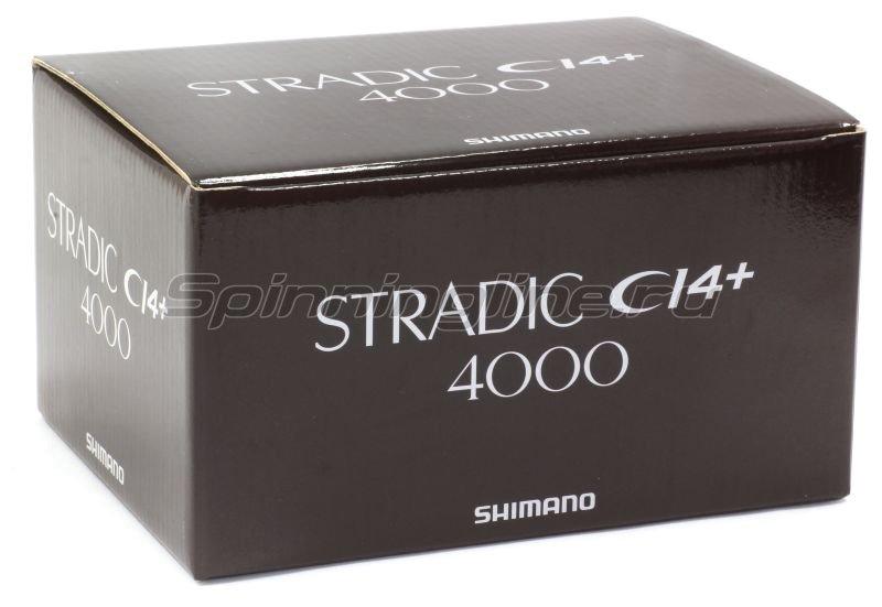 Катушка Shimano Stradic CI4+ 4000 FB -  6