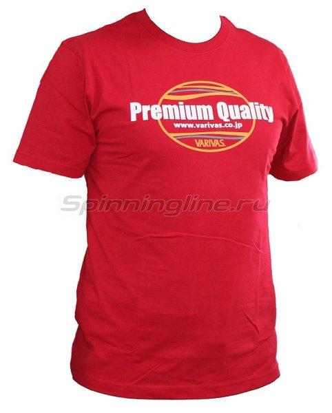 Футболка Varivas T-Shirts Premium Quality Red L -  1