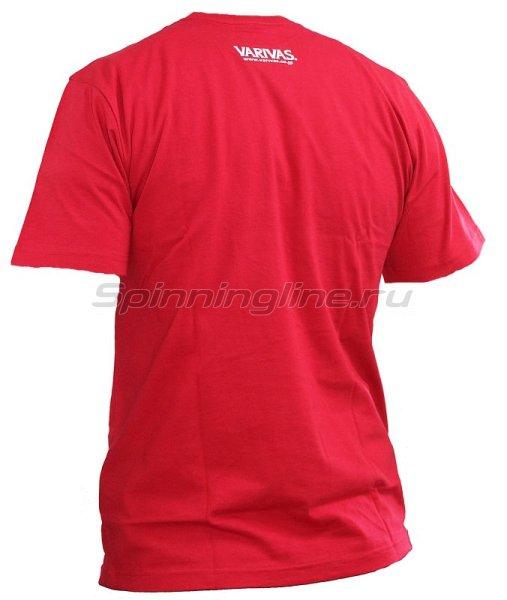 Футболка Varivas T-Shirts Premium Quality Red L -  2